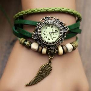 Handmade Leather Strap Watches Woma..