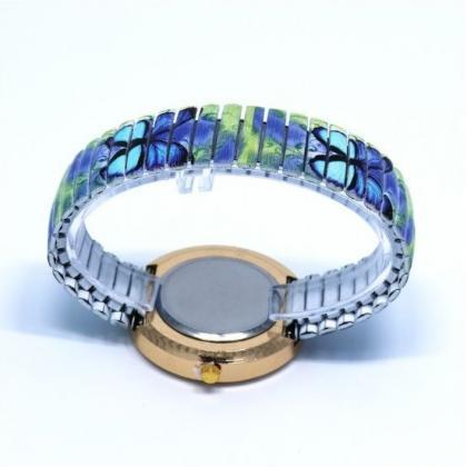 Butterfly Face Stainless Steel Band..